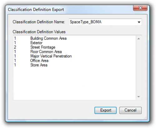 ClassificationDefinitionTools for AutoCAD Architecture