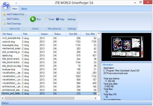 SmartPurger - Script for AutoCAD