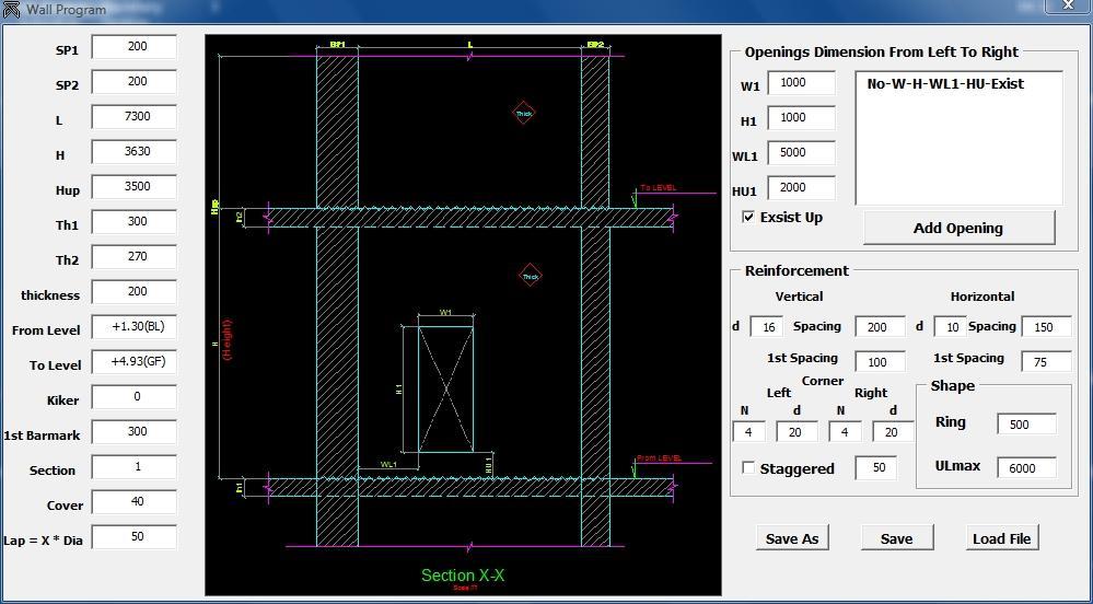 Ứng dụng triển khai chi tiết cốt thép