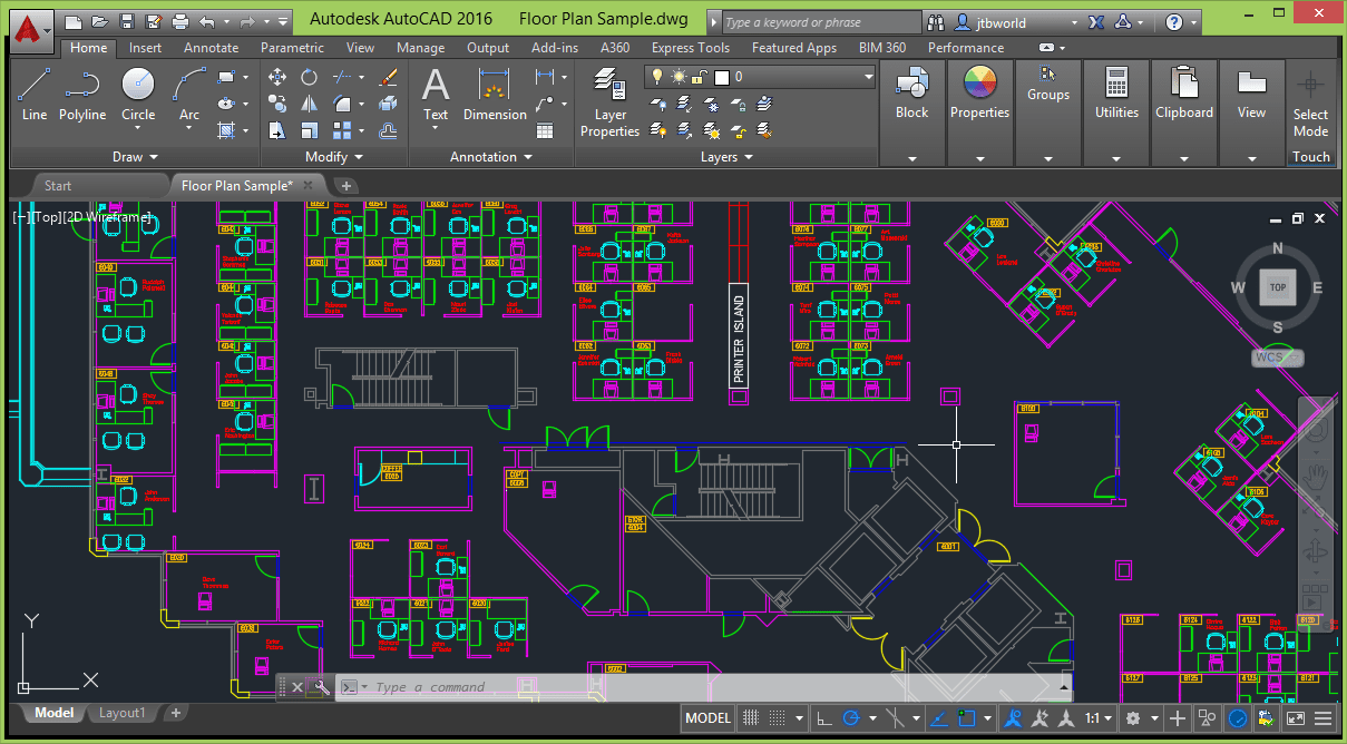 Autocad 2016 jtb world for Ip camera design tool