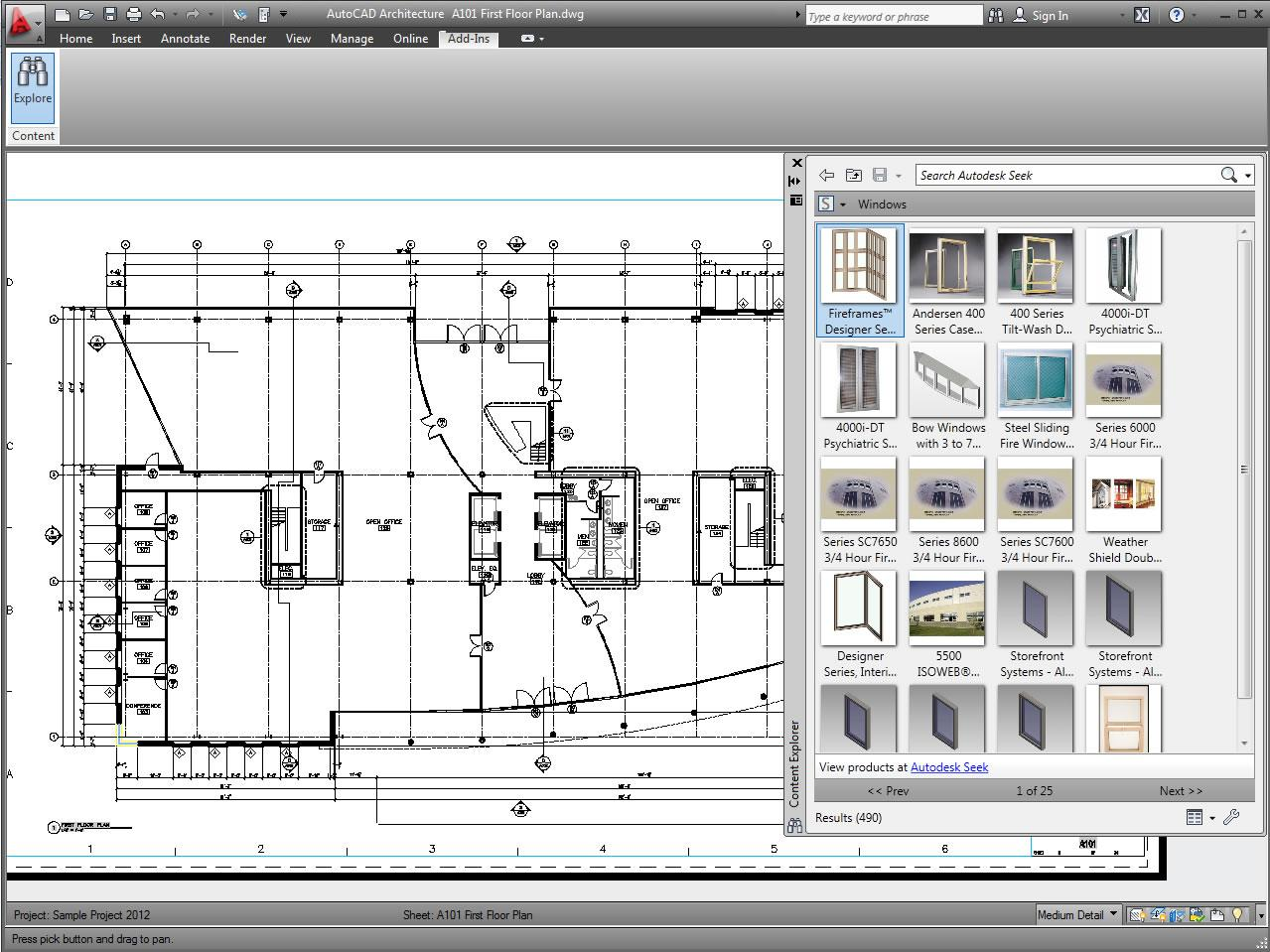 Autocad architecture 2012 jtb world for Web based interior design software